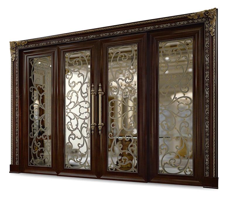 Porta Scorrevole Doppia Anta Vetro Dr114ab V Bakokko Group Luxury Furniture
